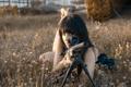 Картинка девушка, оружие, Sniper