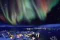 Картинка Aurora borealis, Norway, Hammerfest
