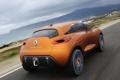 Картинка дорога, авто, Concept, Renault, задок, Captur