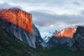 Картинка лес, деревья, горы, скалы, Apple, склон, Калифорния