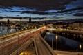 Картинка stockholm, город, ночь