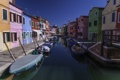 Картинка вода, город, цветные, дома, канал, Burano