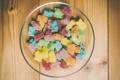 Картинка мармелад, тарелка, сладость, конфеты
