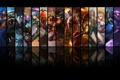 Картинка League of legends, Ryze, Obsidian Malphite, Feral Warwick, Ionia Master Yi, Brand, Acolyte Lee Sin