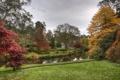 Картинка трава, природа, пруд, парк, фото, Ирландия, Mount Usher