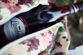 Картинка вишня, романтика, Лондон, бутылка, пикник