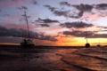 Картинка закат, пейзаж, корабли, море