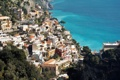 Картинка город, фото, побережье, дома, Италия, сверху, Amalfi
