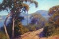 Картинка АРТ, РИСУНОК, ARTSAUS, BLUE MOUNTAINS AUSTRALIA
