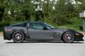 Картинка черный, карбон, corvette, диски, z06