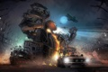 Картинка машины, гонка, монстр, самолеты, арена, Motorstorm