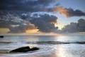 Картинка закат, пейзаж, природа, море