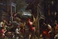 Картинка люди, картина, жанровая, мифология, Франческо Бассано, Возвращение Блудного Сына