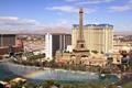 Картинка радуга, Лас-Вегас, фонтан, США, Невада, музыкальный, отели