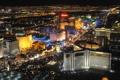 Картинка лас-вегас., пейзаж, города, ночного
