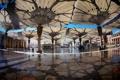 Картинка площадь, square, umbrellas, Saudi Arabia, саудовская аравия