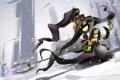 Картинка снег, Маг, 1920x1200, Смех, League of legends, Veigar, Mage