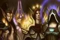 Картинка магия, эльф, арт, World of Warcraft, wow, персонажи