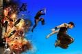 Картинка взрыв, боевик, паркур, Дэвид Белль, Сирил Раффаэлли, 13-й район Ультиматум, Banlieue 13 Ultimatum