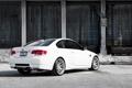 Картинка бмв, BMW, склад, белая, white, E92, задняя часть