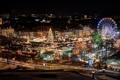 Картинка Рождество, елка, ярмарка, огни, город, Weihnachtsmarkt, Германия