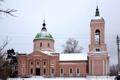 Картинка церковь, Московская область, Рождества Пресвятой Богородицы, село Махра, Сергиево-Посадский район