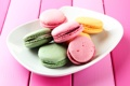 Картинка тарелка, sweets, plate, выпечка, сладость, pastries, macaroons