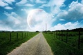 Картинка природа, небо, дорога