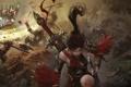 Картинка девушка, битва, сражение, World of Legend