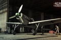 Картинка самолет, ангар, военная, Focke Wulf, War Thunder, Gaijin Entertainment, ММО