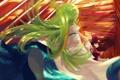 Картинка радость, девушки, аниме, арт, touhou, kochiya sanae, hakurei reimu