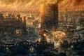 Картинка город, игра, арт, Вегас
