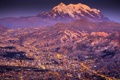 Картинка Landscape, Mountain, Sunset, Smoke, South America, Cities, La Paz
