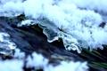 Картинка вода, снег, лёд, весна, оттепель