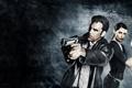 Картинка пистолет, игра, game, оружее, Desert Eagle, Beretta, Mona Sax