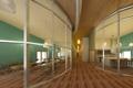 Картинка дизайн, столовая, дом, общественное пространство, стекло, интерьер, стиль
