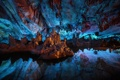 Картинка China, Reflections, Guilin, Reed Flute Cave, Still Water