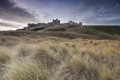 Картинка пейзаж, Northumberland, Bamburgh Castle
