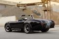 Картинка фон, чёрный, тюнинг, суперкар, вид сзади, tuning, Cobra