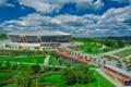 Картинка парк, футбол, стадион, Донбасс Арена, Donbass Arena, шахтёр