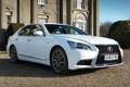 Картинка LS 460, F-sport, белый, лексус, Lexus