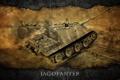Картинка Германия, арт, танк, танки, WoT, Jagdpanther, World of Tanks