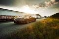 Картинка закат, тюнинг, вечер, Honda, Accord, хонда, Tuning