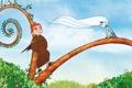 Картинка ветки, фентези, листва, мультфильм, Эшлинг, Тайна Келлс, The Secret of Kells