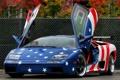 Картинка фон, Lamborghini, двери, суперкар, передок, Diablo, Ламборгини