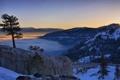 Картинка Зима, Дорога, Мост
