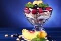 Картинка малина, орехи, персик, ежевика, peach, blackberry, raspberry