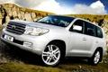 Картинка горы, джип, внедорожник, Toyota Land Cruiser 200