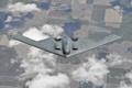 Картинка B-2 Spirit, полет, тяжёлый, малозаметный, бомбардировщик, земля, стратегический