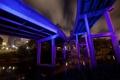 Картинка ночь, мост, usa, texas, houston